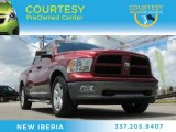 2011 Deep Cherry Red Crystal Pearl Dodge Ram 1500 SLT Crew Cab #81770440