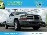 2003 Bright Silver Metallic Dodge Dakota SLT Quad Cab #81770438
