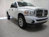 2007 Bright White Dodge Ram 1500 SLT Quad Cab 4x4 #81770348