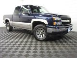 2006 Dark Blue Metallic Chevrolet Silverado 1500 Z71 Extended Cab 4x4 #81770343