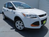 2013 Oxford White Ford Escape S #81770212