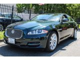 2011 Botanical Green Metallic Jaguar XJ XJ #81810490