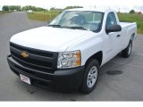 2013 Summit White Chevrolet Silverado 1500 Work Truck Regular Cab #81810958