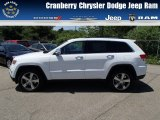 2014 Bright White Jeep Grand Cherokee Limited 4x4 #81810589