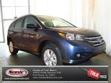 2013 Twilight Blue Metallic Honda CR-V EX-L #81810367