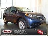 2013 Twilight Blue Metallic Honda CR-V EX-L #81810367