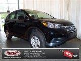 2013 Crystal Black Pearl Honda CR-V LX #81810364