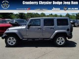 2013 Billet Silver Metallic Jeep Wrangler Unlimited Sahara 4x4 #81810584