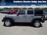 2013 Billet Silver Metallic Jeep Wrangler Unlimited Sport S 4x4 #81810583