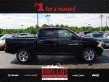 2012 Black Dodge Ram 1500 ST Crew Cab 4x4 #81810465