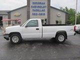 2006 Summit White Chevrolet Silverado 1500 Work Truck Regular Cab 4x4 #81811177