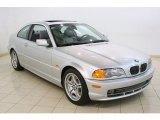2001 Titanium Silver Metallic BMW 3 Series 330i Coupe #81810938