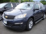 2013 Atlantis Blue Metallic Chevrolet Traverse LS AWD #81810348
