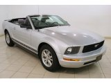 2007 Satin Silver Metallic Ford Mustang V6 Deluxe Convertible #81810928