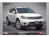 2007 Glacier Pearl White Nissan Murano S AWD #81810454