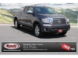 2011 Magnetic Gray Metallic Toyota Tundra Limited Double Cab 4x4 #81810293