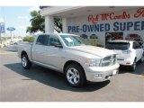2010 Stone White Dodge Ram 1500 Lone Star Crew Cab 4x4 #81810549