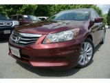 2011 Basque Red Pearl Honda Accord EX-L Sedan #81810909
