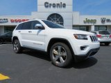 2014 Bright White Jeep Grand Cherokee Limited #81810669
