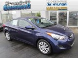 2012 Indigo Night Blue Hyundai Elantra GLS #81810271