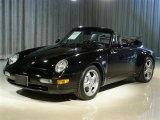 1995 Black Porsche 911 Carrera 4 Cabriolet #62494