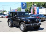 2012 Black Jeep Wrangler Rubicon 4X4 #81810531