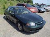 2003 Dark Green Metallic Chevrolet Cavalier LS Sedan #81810653