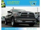 2012 Black Dodge Ram 1500 Laramie Crew Cab #81810889