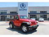 2011 Flame Red Jeep Wrangler Sport S 4x4 #81810403
