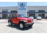 2011 Flame Red Jeep Wrangler Sport S 4x4 #81810402