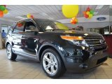 2013 Tuxedo Black Metallic Ford Explorer Limited #81810624