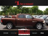 Western Brown Pearl 2017 1500 Horn Crew Cab 4x4