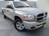 2006 Bright Silver Metallic Dodge Ram 1500 SLT Quad Cab #81870531