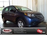 2013 Twilight Blue Metallic Honda CR-V LX #81870122