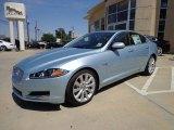 2013 Jaguar XF Crystal Blue Metallic