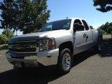 2013 Silver Ice Metallic Chevrolet Silverado 1500 LT Extended Cab #81870379