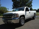 2013 Summit White Chevrolet Silverado 1500 LS Regular Cab #81870375