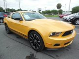 2011 Ford Mustang Yellow Blaze Metallic Tri-coat