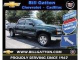 2006 Dark Green Metallic Chevrolet Silverado 1500 Z71 Crew Cab 4x4 #81870900