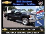 2013 Black Chevrolet Silverado 1500 LT Extended Cab 4x4 #81870894