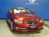 2012 Vermilion Red Metallic BMW 3 Series 328i Convertible #81870096