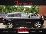 2014 Brilliant Black Crystal Pearl Jeep Grand Cherokee Overland 4x4 #81870218