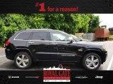 2014 Brilliant Black Crystal Pearl Jeep Grand Cherokee Overland 4x4 #81870216