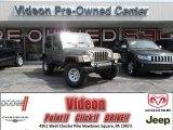 2006 Light Khaki Metallic Jeep Wrangler Sport 4x4 #81870989
