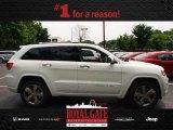 2014 Bright White Jeep Grand Cherokee Overland 4x4 #81870213