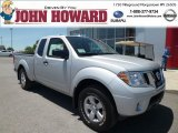2013 Brilliant Silver Nissan Frontier SV V6 King Cab 4x4 #81870737
