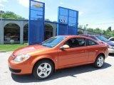 2007 Sunburst Orange Metallic Chevrolet Cobalt LT Coupe #81870330