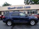 2011 Kona Blue Metallic Ford Explorer XLT 4WD #81870620
