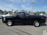 2012 Black Chevrolet Silverado 1500 Work Truck Regular Cab 4x4 #81870981