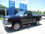 2006 Black Chevrolet Silverado 1500 Work Truck Regular Cab 4x4 #81870326